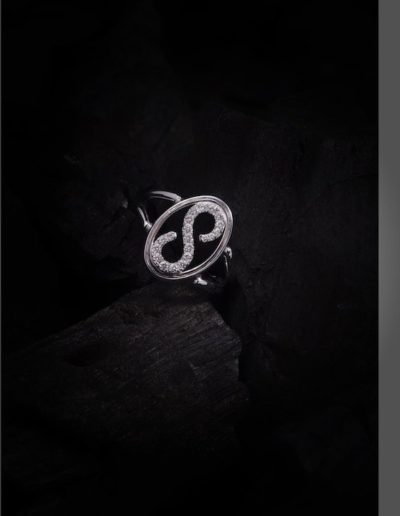 Bague S - Diamants & Or blanc